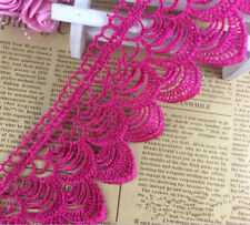 2 Yards Fish scales embroidery lace Trim clothing Wedding dress accesories 6cm