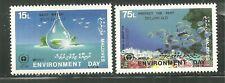 MALDIVES 1284-85 MNH WORLD ENVIRONMENT DAY