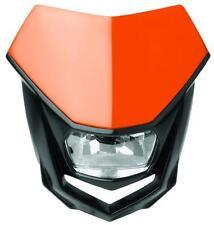 Máscara de la lámpara de deporte político Halo con faros halógenos, Naranja