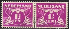 Netherlands 1926 NVPH plate error 171P+171 in pair