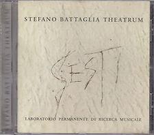 STEFANO BATTAGLIA THEATRUM - gesti CD