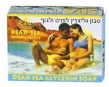 ISRAEL 125 gr BODY AND FACIAL DEAD SEA MINERALS GLYCERIN SOAP (C&B)