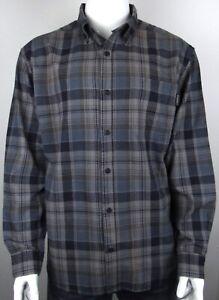Wolverine Flannel Plaid Button Down Shirt XL NWT