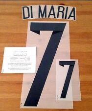 Argentina World Cup 2014 HOME SHIRT 2014-15 di Maria # 7 DEKOGRAPHICS KIT NAME SET