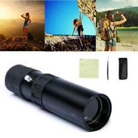 Optical 10-30x25 Binoculars Zoom Monocular Telescope Pocket Night Vision Hunting