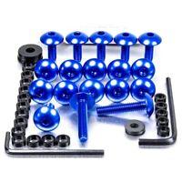 Pro-Bolt Aluminium Fairing Bolt Kit - Blue FSU092B Suzuki GSX-R750 K8-L0 08-10