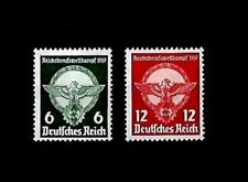 GERMANY Third Reich Swastika Mi 689-690 Young Workers Competition MNH