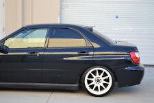 HIC USA 02 to 07 Impreza GD rear roof window visor spoiler new (Matte Black)