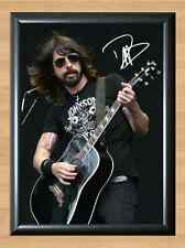 Dave GROHL FOO FIGHTERS signiert handsigniert A4 Print Poster Foto Ticket CD DVD