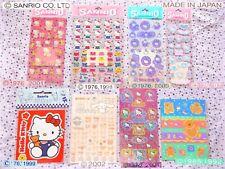 🌼 Original SANRIO STICKERS Adesivi VINTAGE and 2000'S - 218 PIECES! Hello Kitty