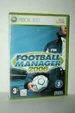FOOTBALL MANAGER 2006 GIOCO USATO XBOX 360 EDIZIONE INGLESE GD1 44967