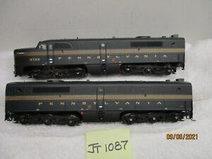 JT1087 Life-Like/Walthers Powered PA & PB Pennsylvania 5756 (DCC & Sound)
