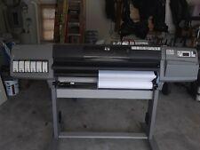 Hewlett Packard Hp Designjet 5500 Wide Format Printer Plotter