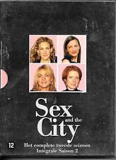 COFFRET 3 DVD ZONE 2--SERIE TV--SEX AND THE CITY--INTEGRALES SAISON 2
