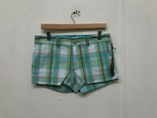Vans Of The Wall Women's Classic Boardwalk Plaid Shorts - Various Sizes -  New