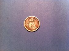 1840 O Seated Liberty Dime, Mid Grade, No Drapery, Silver, 10 New Orleans (c22)