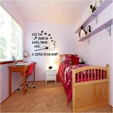Girl Words & Phrases Wall Decals