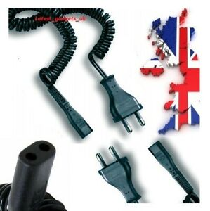 2 Pin Electric Shaver Charger Power Cable/Lead For Philips HQ6842 HQ5806 HQ5801