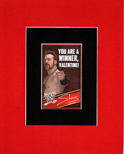 WWE - SHEAMUS Valentine's Day PRINT PROFESSIONALLY MATTED
