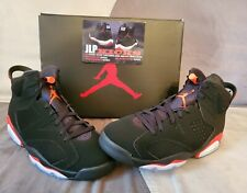 save off 70892 6bbb9 Nike Air Jordan 6 Retro Basketball Shoes - Black Infrared