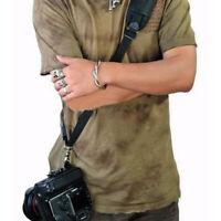 QUICK STRAP Camera Single Shoulder Belt Sling For DSLR Cameras Canon Sony Nikon
