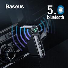 Baseus Car Aux bluetooth 5.0 Adapter Wireless 3.5mm Audio Receiver Handsfree