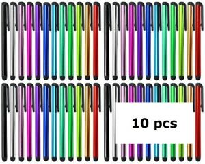 10 x Universal Touch Screen Stylus Pens For All Mobile Phone iPad iPhone Tablet