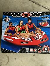 Wow 3 Person towable tube/Watersports