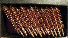 12 Brand New Heavy Duty Brass/Copper #10/32 Thread Black Powder .45 Bore Brushes