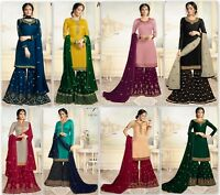 Designer Salwar Kameez Suit Indian Pakistani Bollywood Dress Anarkali Kameez FM