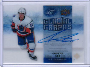 15/16 UD ICE HOCKEY GLACIAL GRAPHS SIGNATURE AUTO CARDS (GG-XX) U-Pick From List