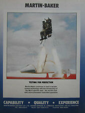 PLAQUETTE SIEGE EJECTABLE SEMMB MARTIN BAKER EJECTION SEAT RAFALE MK16 MIRAGE