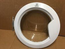 indesit washing machine washer iwb6123 glass door and hinge