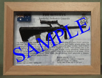 F88 Austeyr Rifle - Airfield Defence Guards - Framed for Display