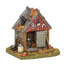 Department 56 Halloween Village Backyard New 2018 Backwoods Tool Shed 6001743