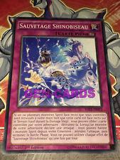 Carte Yu Gi Oh SAUVETAGE SHINOBISEAU RATE-FR072 x 3