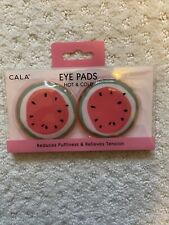 Cala Eye Pads, Hot & Cold Eye Pads (Watermelon) Microwavable & Freezable