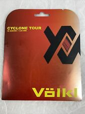 Volkl Cyclone Tour 18G/1.20MM Red Tennis String (   Red )