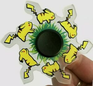Pokemon Toy Fidget Hand Spinner Running Fingertip Gyro Relief Stress