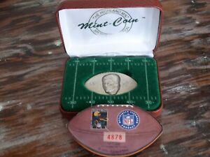 DAN MARINO Miami Dolphins .999 FINE SILVER FOOTBALL COIN 1996 Highland Mint #'d