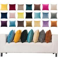 "Luxury Velvet Cushion Cover Pillow Cover Pillow Case Home Decor 16""-24"" Fashion"