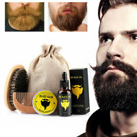 Beard Balm Wax/Oil Set Nourish Beard Moisturizing Softener Beard Care