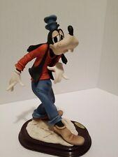 Disney Goofy Signed Giuseppe Armani Statue