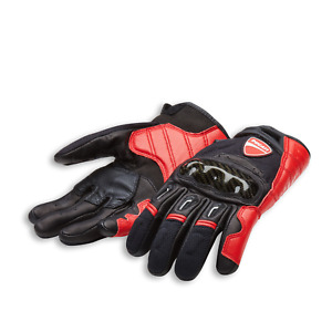 Ducati Company C1 Leather Mesh Motorcycle Gloves
