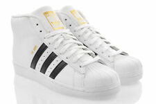 Scarpe da ginnastica da uomo bianchi formali marca adidas