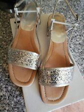 Kurt Geiger silver sandals size 6 BNWB