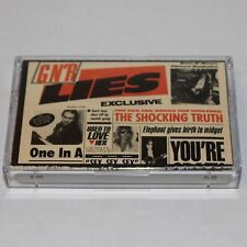 Guns N Roses Cassette Tape G N' R Lies '88 Heavy Metal BMG Record Club w/ '86 EP