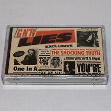 Guns N Roses Cassette Tape G N' R Lies '88 Heavy Metal BMG Record Club w/ '86 EP