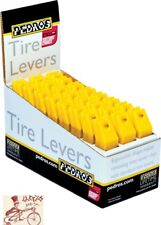 PEDRO'S TIRE LEVERS 24 X 2 PACK  YELLOW BICYCLE TOOL