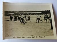 Original WW2 prisoner of War photo SPORTS DAY Stalag Luft 3 C24